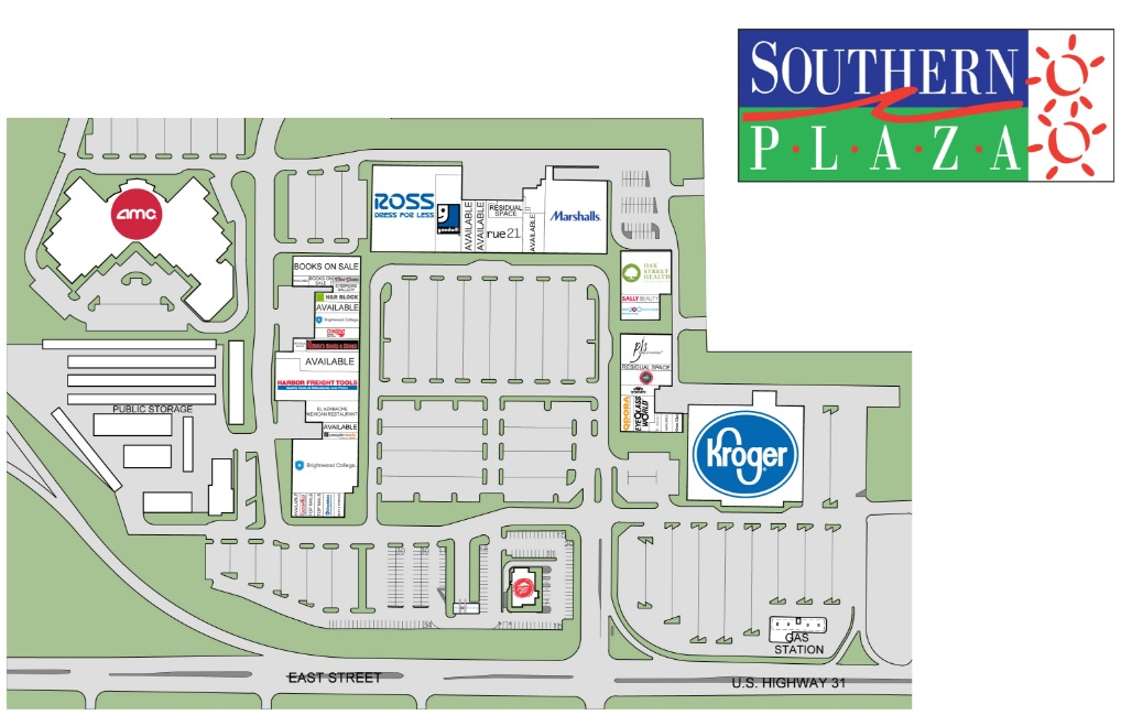 Harbor Freight Tools In Southern Plaza   Store Location Plan