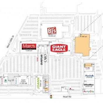 Plan of mall Southland Shopping Center