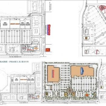 Plan of mall Spring Prairie Center