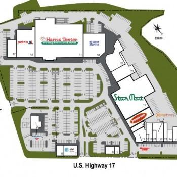 Plan of mall St. Andrews Center