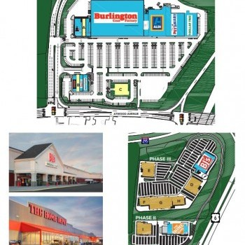 Plan of mall Stonehill Marketplace