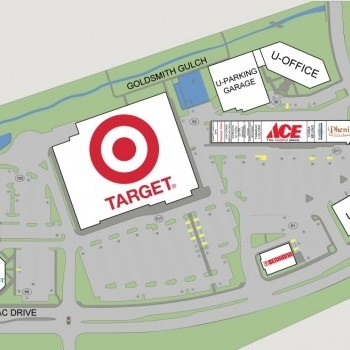 Plan of mall Tamarac Square Shopping center