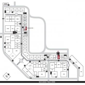 Plan of mall Tanger Outlet Center - Myrtle Beach 501