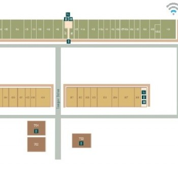 Plan of mall Outlets Williamsburg