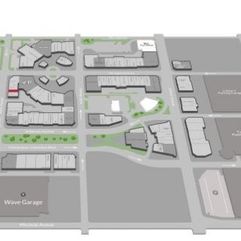 Plan of mall Tanger Outlets - Atlantic City