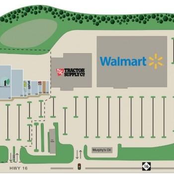 Plan of mall Taylorsville Shopping Center