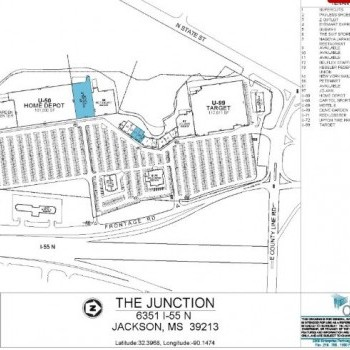 Plan of mall The Junction