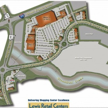Plan of mall The Marketplace at Curti Ranch