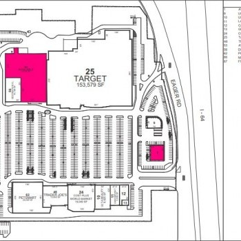 Plan of mall The Promenade at Brentwood