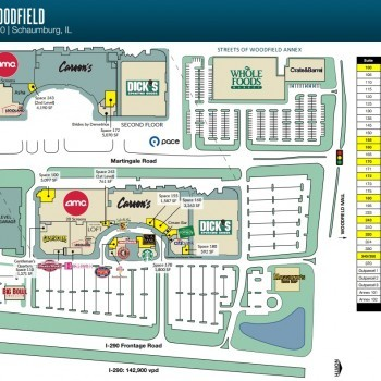 The Streets Of Woodfield - store list, hours, (location