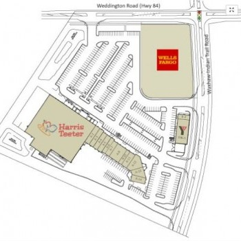 Plan of mall The Village Commons