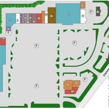 Plan of mall Townridge Shopping Center