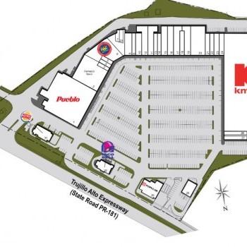 Plan of mall Trujillo Alto Plaza
