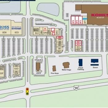Plan of mall Turtle Creek Crossing