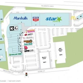 Plan of mall Twin City Plaza