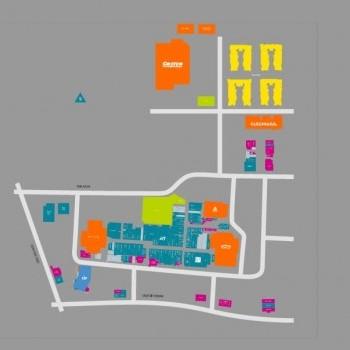 Plan of mall University Place