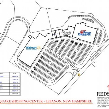 Plan of mall Valley Square Shopping Center