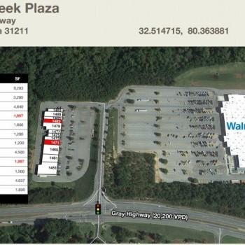 Plan of mall Walnut Creek Plaza
