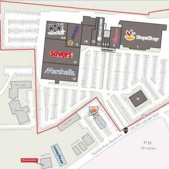 Plan of mall Wampanoag Plaza