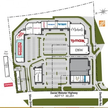 Plan of mall Webster Square