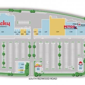 Plan of mall West Jordan Town Center