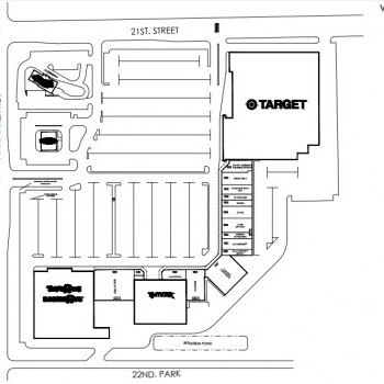 Plan of mall West Ridge Plaza