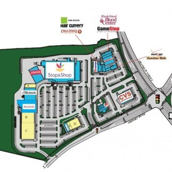Plan of mall Westerly Crossings