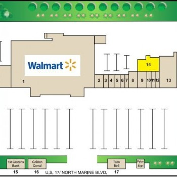 Plan of mall Western Plaza