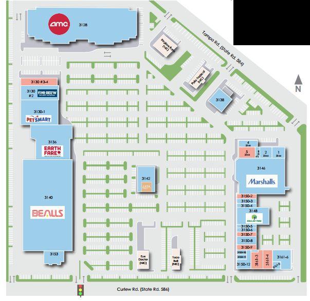 Oldsmar Florida Map.Woodlands Square Store List Hours Location Oldsmar Florida