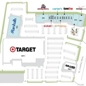 Plan of mall Woodside Central